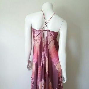 lovestitch Dresses - Lovestitch Tie Dye Boho Maxi Cover Up Dress sz S/M